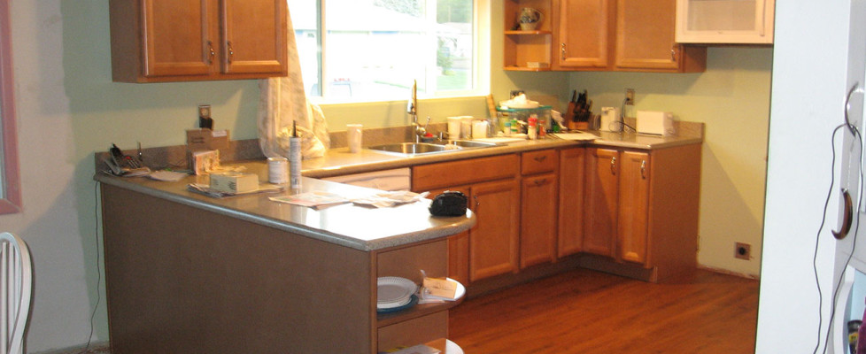 MAINTENENCE FREE Kitchen cabinets, countertops, and floors